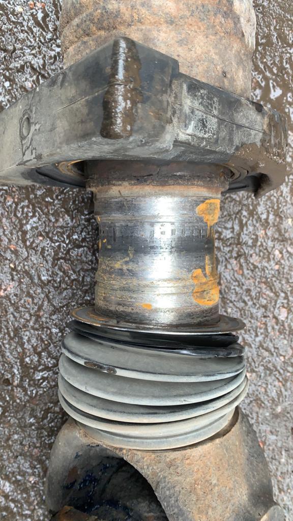 Ремонт карданного вала автобетоносмесителя МАН