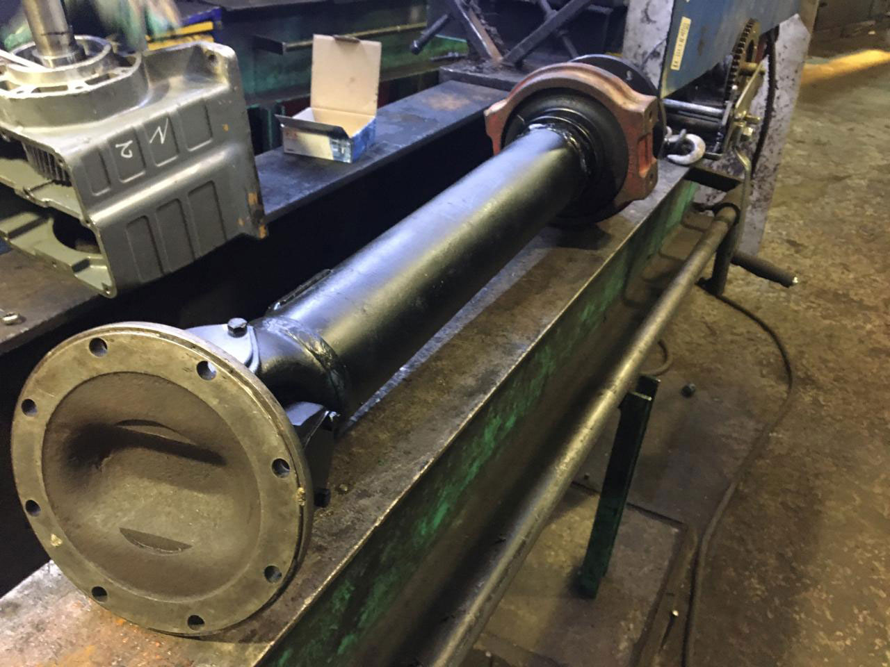 Изготовление и ремонт карданного вала фронтального погрузчика Volvo BM846