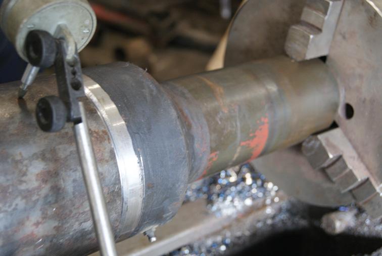 Этапы работ по замене шлицевого соединения кардана Скания